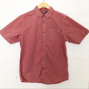 North Face Button Down Short Sleeve Shirt